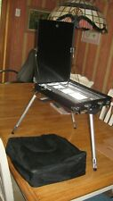 Artist Tripod Easel Folding Table Carry Case. In Carry case.