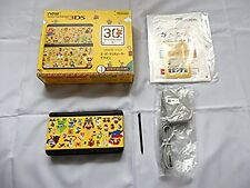 New Nintendo 3DS Console Kisekae Plates Pack Super Mario Maker Design Japan Game