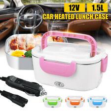 Portable Electric Heating Lunch Box 12V 24V Bento Travel_Food Heater Car Plug_