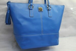 Dooney & Bourke Saffiano Leather Tote - Tobi ROYAL BLUE RTL$274