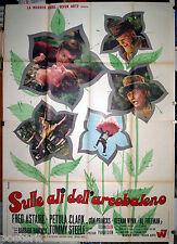manifesto 4F film FINIAN'S RAINBOW Fred Astaire Petula Clark F.F.Coppola 1969