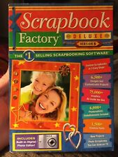Scrapbook Factory Deluxe Version 5 Scrapbooking Software Customizable Templates