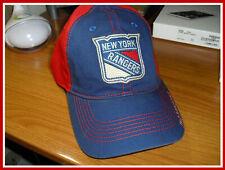 New York Rangers NHL CCM Vintage QC75Z Red/Blue Color Baseball Cap Hat