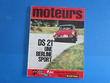 Revue MOTEURS  novembre 1965  n°52   compétition , magazine , essai ....