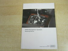 AUDI MMI NAVIGATION / AUDIO / PHONE A6  ETC OWNERS MANUAL -BOOK  - HANDBOOK.