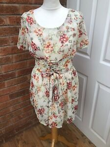 Ladies Floral Dress Size 12. Summer / Holiday