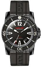 Lum-Tec Watch 300M-2XL 45mm Automatic Mens Diver Black PVD w/ 2 Straps