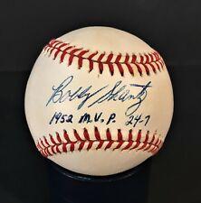 Bobby Shantz single signed autographed baseball, 3X AS, 52 AL MVP, 8X Gold Glove