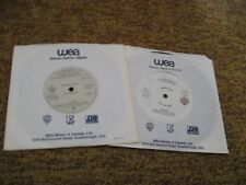 Van Halen/ Lot of 2 WLP Promos/ Warner Bros/ 1984/ Canada/ Panama/ I'll Wait