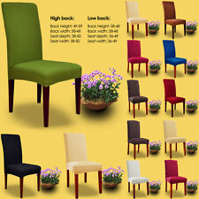 Stretch Household Restaurant Folding Banquet Chair Cover Slipcovers Decoration