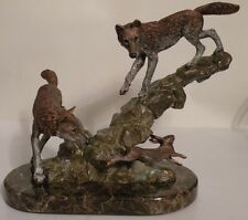 Missed by a Hare Pewter Wolf Kitty Cantrell Legends Limited Edition # 161/500