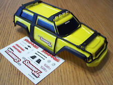 Traxxas 1/16 VXL Summit Yellow Factory Painted Body w/Exo Cage Light Bar & Decal