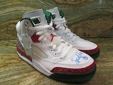 Nike Air Jordan Spizike OG SZ 10 Spike Lee Autographed White Retro 315371-125