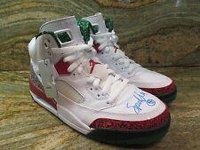 Nike Air Jordan Spizike OG SZ 10 Spike Lee Autographed White Retro 315371-125