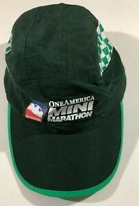 Green ONE AMERICA MINI MARATHON - 500 Festival - Hat - NEW