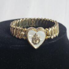 Vintage US Navy Sweetheart Bracelet Sterling