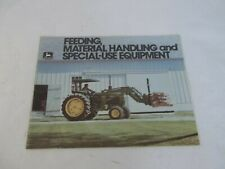 John Deere feeding Material Handling and Special Use Equipment Brochure
