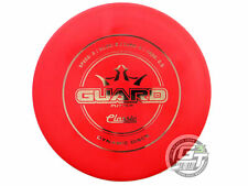 New Dynamic Discs Classic Hard Guard 174g Red Gray Foil A Putter Golf Disc