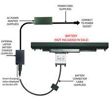 External Laptop Battery Charger for HP Notebook 15-AC1xxxx, 250 G4 807957-x HS04