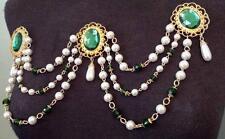 Gianetta Renaissance Elizabethan Bodice Jewelry Brooch 4 Dress Gown Wedding Prom