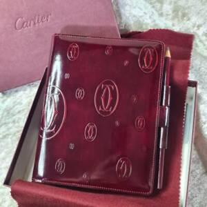 Authentic Cartier Agenda Notebook Cover Happy Birthday 150th Anniversary (NEW)