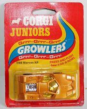 Corgi junior Growlers carded Marcos XP Mint