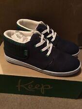 Vegan Shoes Size 4 Keep Company. Ramos Navy Scottish Plaid