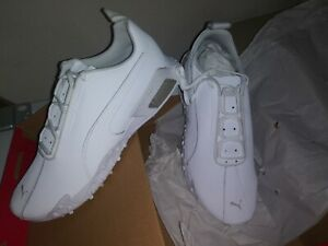 RARE PUMA H.ST.20 Men's Training Shoes 11.5 US WHITE LEATHER NO LONGER AVAILABLE