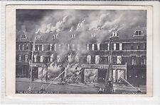DISASTER POSTCARD AT BRIXTON, LONDON AUG 19th 1910 MORLEY & LANCELEY