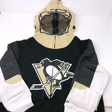 NWT Reebok Pittsburgh Penguins Hoodie Sweatshirt Kids Large