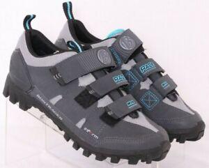 Bontrager 408747 Street Inform eSoles MTB Gray 3-Strap Cycling Shoes Women's 9.5