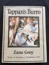 TAPPAN'S BURRO - BY ZANE GREY SIGNED FIRST EDITION
