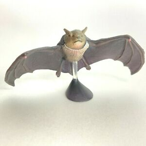 【Defect】 Kaiyodo Capsule Q Museum Miniature Figure Japanese House Bat Japan