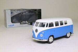 Welly 49764; Volkswagen Microbus 1962; Blue & White; Excellent Boxed
