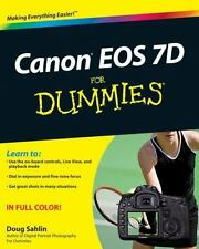 Canon EOS 7D For Dummies by Sahlin, Doug