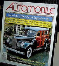 COLLECTIBLE AUTOMOBILE Dec 1997 MAGAZINE 1941 Packard One Twenty Station Wagon