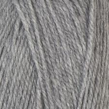 Robin Super Chunky 5x 100 Gram Balls 500 Grams Silver Grey