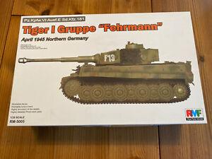 rye field model 1/35 Tiger 1 Gruppe Fehrmann PLUS EXTRAS