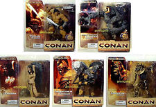 Conan Series 2  Action 5 Figure Set McFarlane Toys New From 2005