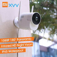 Xiaovv Outdoor Panoramic Camera 1080P HD Home Security Cam Night Vision B0R2