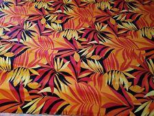 Hawaiian Lycra Spandex Fabric 5'X32' hula Polynesian Arabic belly dance skirt