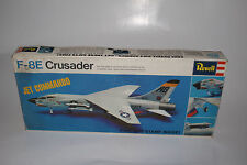 REVELL MODELS F-8E U.S. NAVY JET COMMANDO WWII AIRPLANE, 1:72, BOXED, LOT A