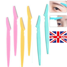 10pcs Women Eyebrow Razor Trimmer Blade Shaper Shaver Face Lip Hair Remover Set