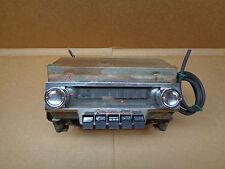 ~VINTAGE~ORIGINAL~ 1955 55 STUDEBAKER PRESIDENT SPEEDSTER AM 6V RADIO & SPEAKER~