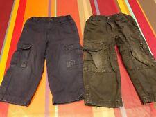 Lot 2 Pantalons Okaidi 23 mois 2 ans, et pantalon tex