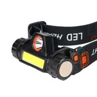 Super Bright Mini Headlamp 4 IN 1 Head Flashlight Torch Lamp With Magnet LJ