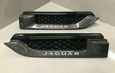 Jaguar F-TYPE  Carbon Fiber Side Fender Power Vents. Pair T2R5393 & T2R5394
