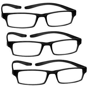 3 Packs Neck Specs Long Arm Reading Glasses Mens Womens UV Reader RRR20