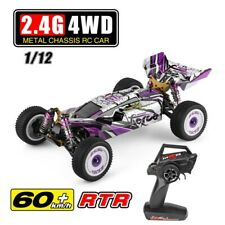 60km/h Wltoys 124019 RTR 1/12 2.4G 4WD Metal Chassis RC Car 550 Brushed Motor Of