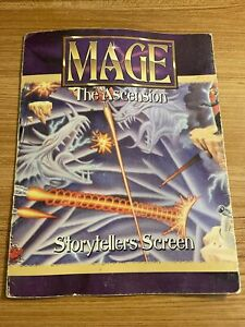 Mage The Ascension Storytellers Screen - White Wolf - RPG